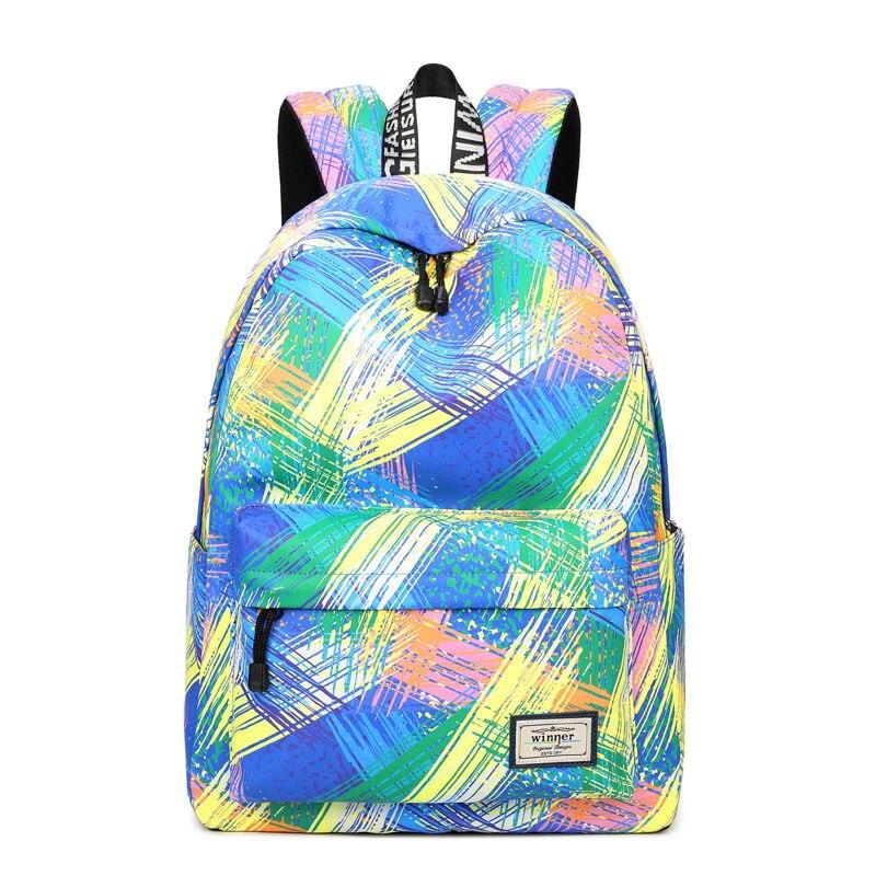 JCPAL Casual Women Backpack School Backpacks Bags Bookbag For Teenagers Girls Laptop Travel Backbag Schoolbag Mochila Feminina