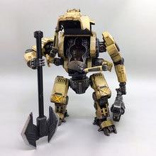 JOYTOY 1/27 robot action figures TIEKUI MECH robot Mecha Military model toys Birthday holiday gift