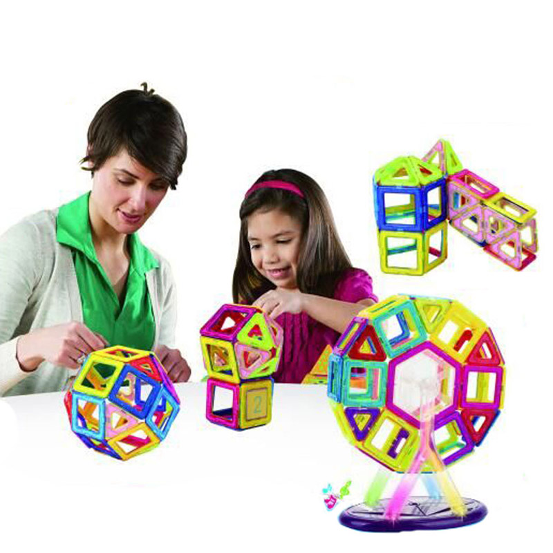 2 Styles Magnetic Building Blocks Models & Building Toy Magnet Plastic Technic Bricks Learning & Educational Toys For Children mi learning styles
