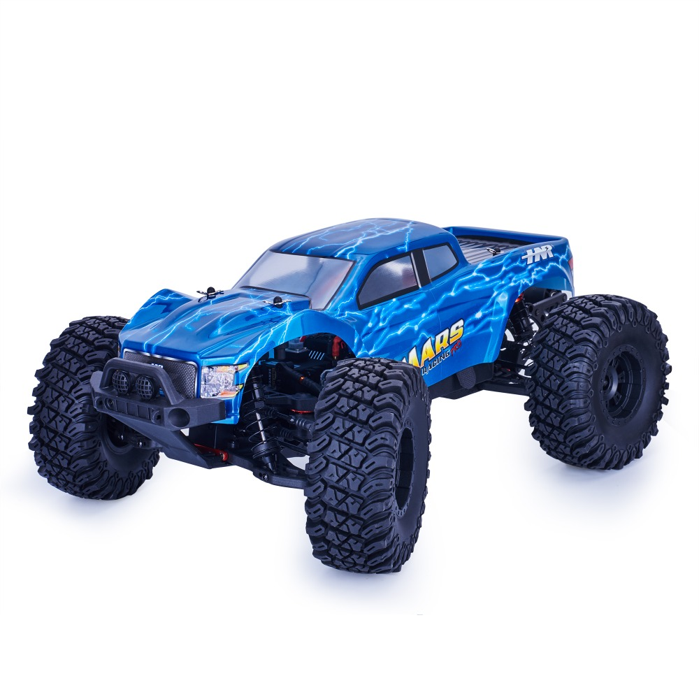 HNR H9801 Baja Hobby Rc Truck 1/10 Off Road Monster Truck MAXS Electric Power Brushless 80A High Speed Remote Control Car 1 10 brushless electric monster truck remote control car brushless electric buggy version high speed off road with gt2b