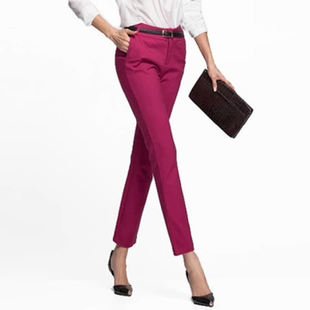 Wmwmnu Women Trousers Work Wear casual Spring Black pencil Pants Plus Size 4XL Female Slim Pants Elastic Pantalones Mujer