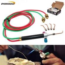 เชื่อมแก๊สอุปกรณ์เครื่องประดับทำเครื่องมือ ไฟฉายแบบพกพาอะเซทิลีนออกซิเจนไฟฉายบัดกรี,MINI Little