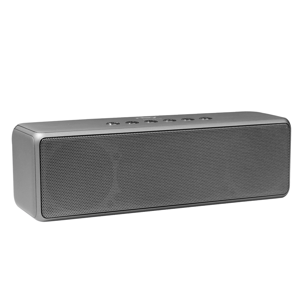NBY Bluetooth Speaker Portable Wireless Speakers Super Bass Subwoofer Loudspeakers with Mic TF Card for Mobile Phone