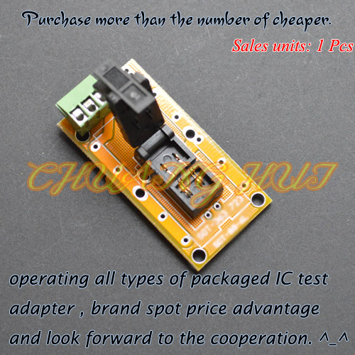 IC TEST SOT-723 Test Socket SOT723 Aging Test Socket With PCB