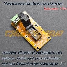 IC TEST SOT-723 test socket SOT723 Aging (pcb)