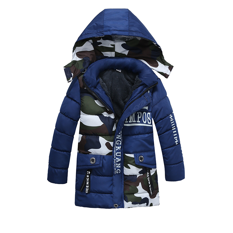 Children Down & Parkas winter kids outerwear baby boys warm hooded jacket for boys  Boys Clothing boys warm Camouflage coat children winter coats jacket baby boys warm outerwear thickening outdoors kids snow proof coat parkas cotton padded clothes