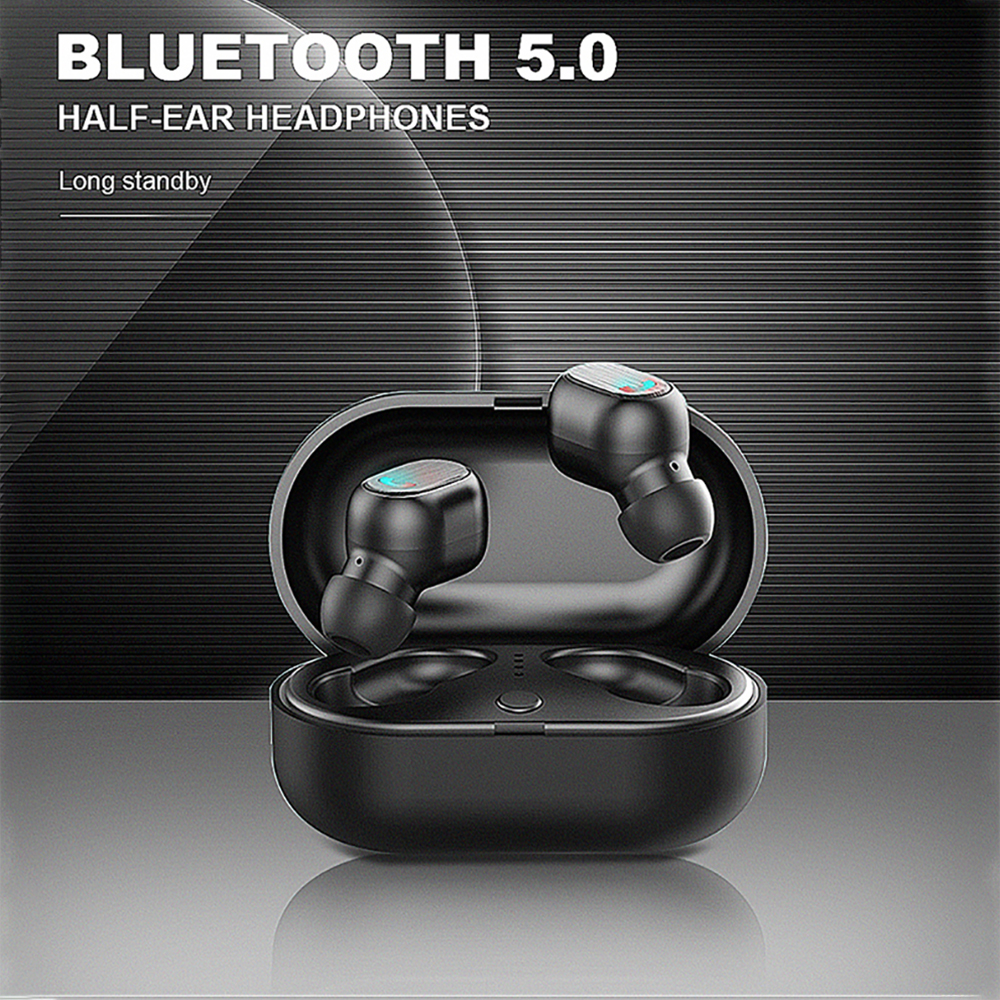 TWS Bluetooth Earphone 5.0 Wireless Bluetooth headset Sports headphones With MINI Charging Box for SmartPhone galaxy buds-in Bluetooth Earphones & Headphones from Consumer Electronics    1