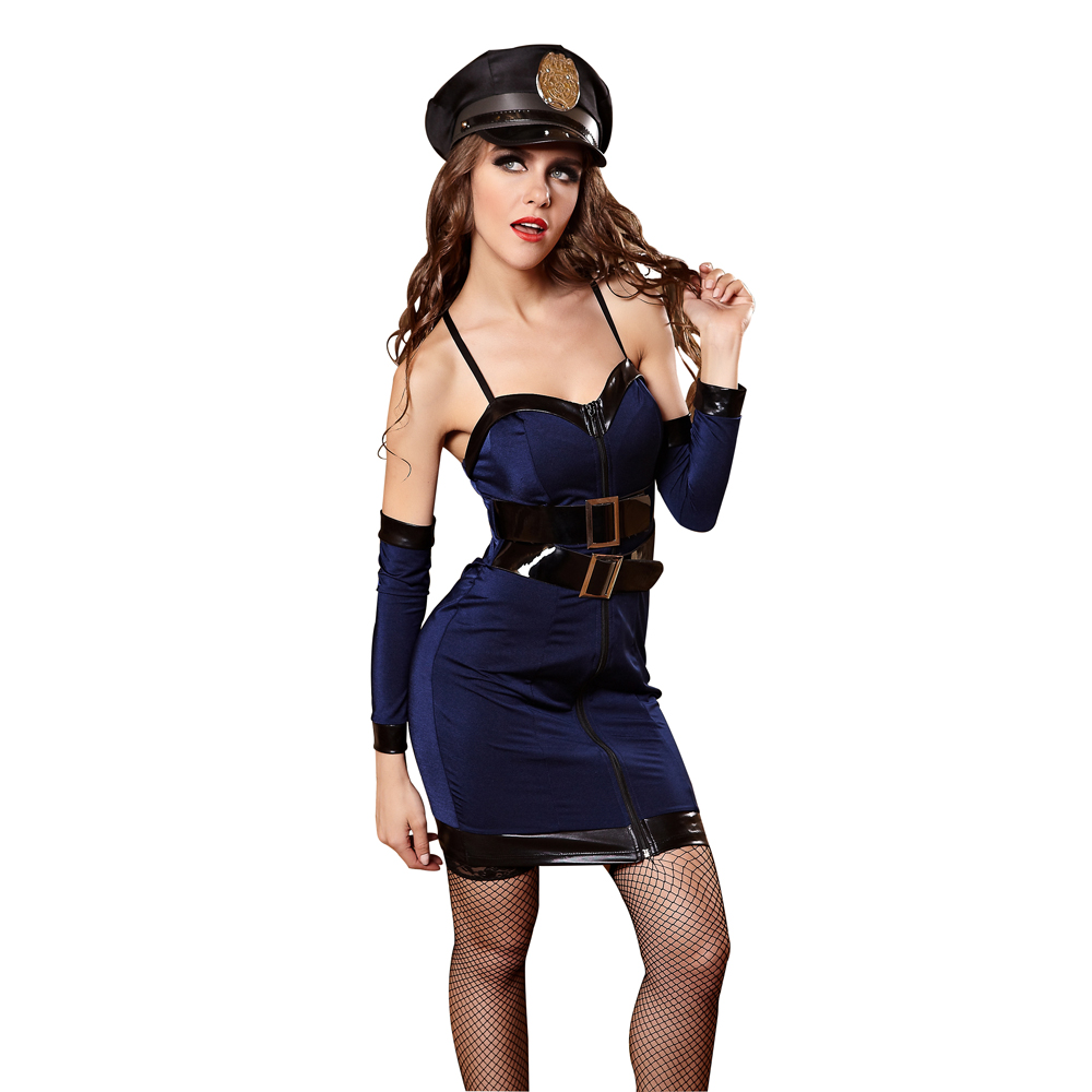 Sexy Police Costume Halloween Costume For Woman Role Playing Cop Outfit Cosplay Costume Girl Erotic Braces Tight Dress Uniforms-in Sexy Costumes from ...  sc 1 st  AliExpress.com & Sexy Police Costume Halloween Costume For Woman Role Playing Cop ...