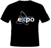 Stark Expo Iron Man Movie T Shirt Tops Summer Cool Funny T Shirt