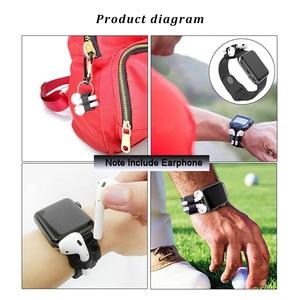 Image 5 - Funda de silicona 4 en 1 para Airpods, accesorios, correa de reloj, Correa antipérdida para Apple AirPods, auriculares inalámbricos