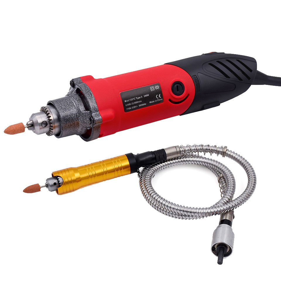 240W 30000rpm Mini Drill Electric Grinder Multi-functional Rotary Tool with 151pcs Kit for DREMEL Around-the-House and Crafting240W 30000rpm Mini Drill Electric Grinder Multi-functional Rotary Tool with 151pcs Kit for DREMEL Around-the-House and Crafting