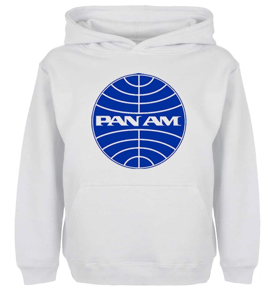 Unisex Fashion Retro Pan Am Design Hoodie Mens Boys Womens Girls winter jacket Sweatshirt For Birthday Parties