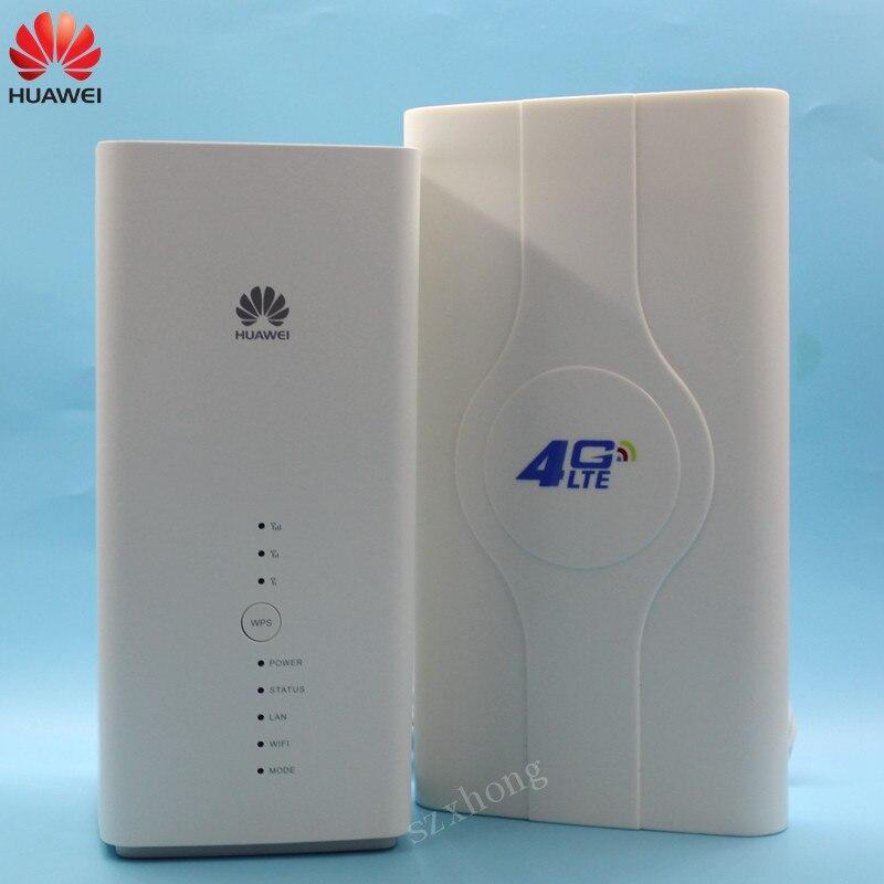 Débloqué Huawei 4G LTE routeur B618 B618s-22d avec antenne 4G 300 Mbps routeur WiFi Mobile 4G routeur sans fil avec fente pour carte Sim