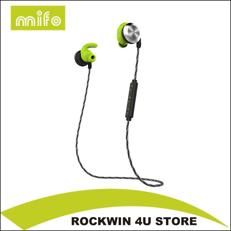mifo U2 Waterproof Bluetooth 4.1 Ear Hook Wireless Magnet Sport headphone HiFi Stereo Earbuds Bass Auriculares With mic Headset pluggable in ear earphone driver earbuds headset hifi bass ear hook subwoofer sport headphone with mic for xiaomi pc mp3