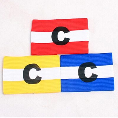 Hot Soccer Gear Adjustable Captain Armband Football Match Games Player Arm Band Skippers Armband Kapitnsbinde Fluroescent Vest