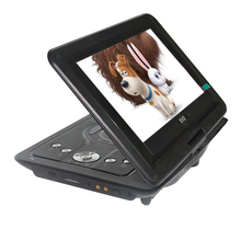 LONPOO 10.1-Inch Swivel Screen Portable DVD Player with 5 Hour Built Rechargeable Battery USB/SD Card Reader CD/MP3/DVD Player