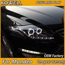 Kowell Auto Styling Voor Ford Mondeo Led Koplamp Nieuwe Mondeo 2007 2008 2009 2012 Drl H7 D2H Hid Optie angel Eye Bi Xenon Beam