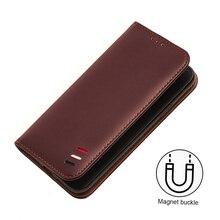 original For Huawei Nova 4 Case flip leather huawei nova cover silicone back funda case for nova4 luxury