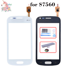 For Samsung Galaxy Trend S7560 S Duos S7562 GT-S7562 7562 7560 LCD Touch Screen Sensor Display Digitizer Glass Replacement lychee grain style protective abs back case for samsung galaxy trend duos s7562 s7560 white
