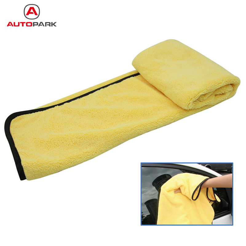 Largest Microfiber Towel: KKMOON Large Size Microfiber Car Cleaning Towel Cloth