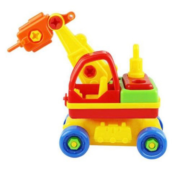 Child Baby Disassembly Assembly Cartoon Car Toy Kids Xmas Gift New Model:Driller