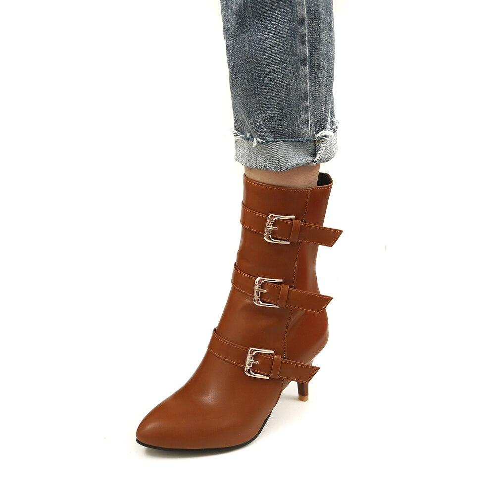 1 Martin Talons 2018 Noires Chaussures 2 Hauts Cheville Courtes Automne Femmes Nouveau Boot À 3 Hiver Bottes 8wP6qp8
