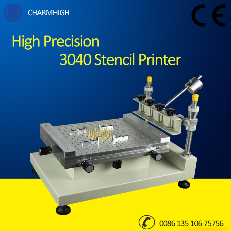 Discount! High Precision 3040 Stencil Printer / Manual Solder Printer 3040 Solder Paste Printer / Best Quality Recommend!