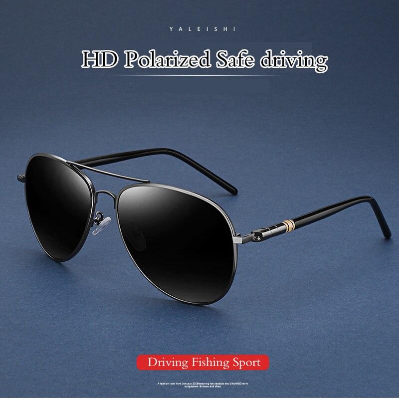 a6f4f201db7 2019 Anti-Reflective aviation Polarized Sunglasses Men Sports Sun Glasses  Driving Glasses Goggle Eyewear Male