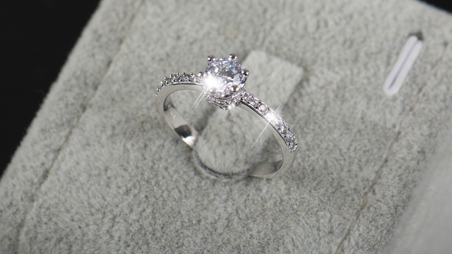 Fashion Jewelry Engagement 5A Zircon