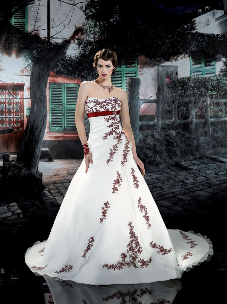 lace wedding dress Picture More Detailed Picture about Red and