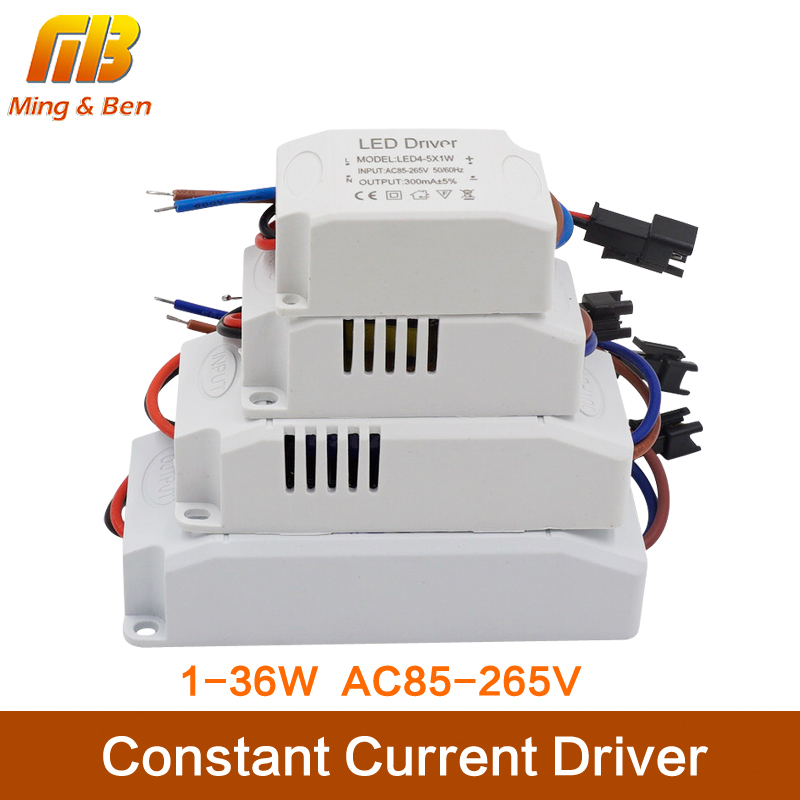<font><b>LED</b></font> PVC Constant <font><b>Driver</b></font> Input AC85-265V 1-3W 4-7W 8-<font><b>12W</b></font> 15-18W 20-24W 25-36W Power Supply <font><b>Transformers</b></font> Chip For <font><b>LED</b></font> Downlight image
