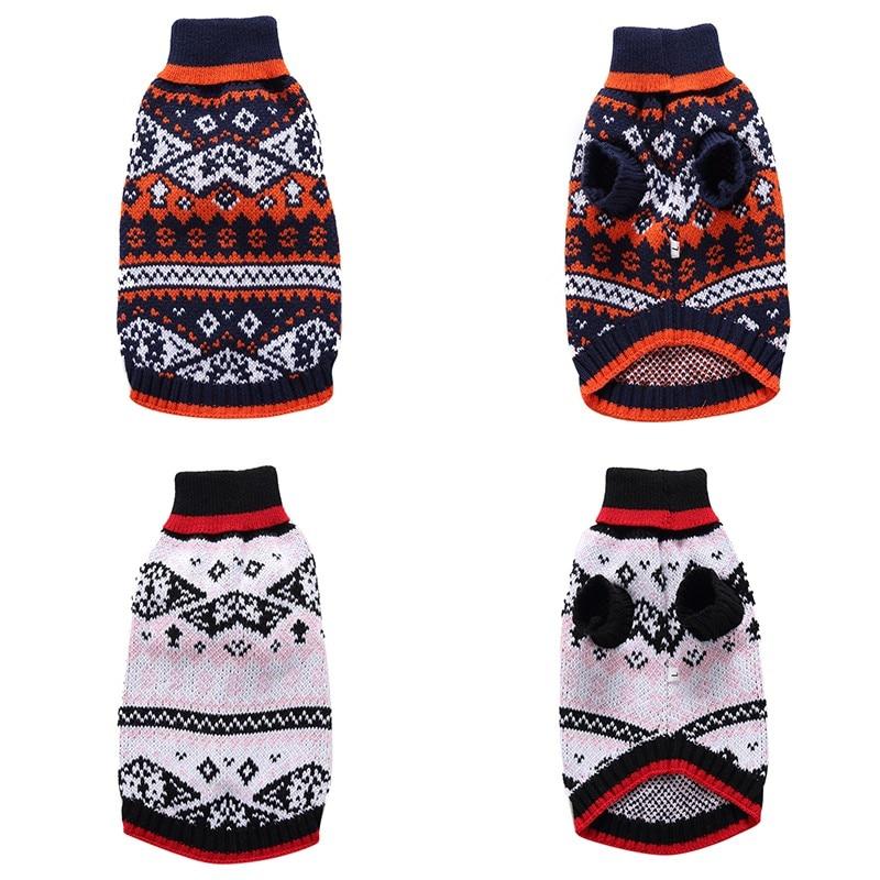 Perro Navidad murciélago suéter patrón caliente del ganchillo del ...
