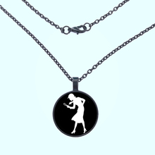 2019 Nancy Drew Girl Detective, Mystery Book Jewelry, Black and White Art Pendant necklace White print glass Pendant necklace nancy drew 32 the scarlet slipper mystery