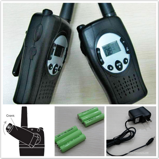 2pc pack black t088 crank dynamo radio frs gmrs emergency wind up 2pc pack black t088 crank dynamo radio frs gmrs emergency wind up walkie talkies 2 way sciox Gallery