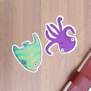Image 5 - 12pcs Marine Organism Anti Slip Bathroom Sticker Self adhesive Sticker Decals for Bath Tub Shower Surfaces