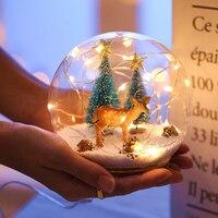 Electrostatic Sphere Light Plasma Ball Magic Crystal Lamp Ball Desktop Lightning New Year Christmas Party Touch Sensitive Light