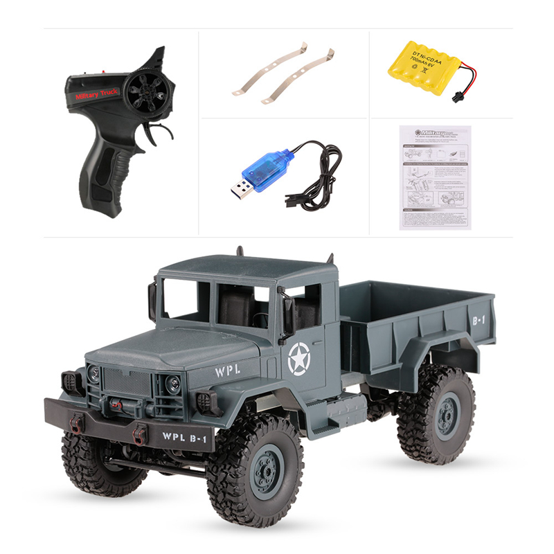 High Speed 4-wheel Drive Remote Control Car Toy Off-road Vehicle Climbing Car 2.4G Radio Remote Control Military Truck RC B14 super climbing remote control car model off road vehicle toy four wheel drive