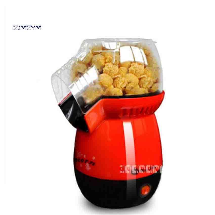 New Arrival B301 Automatic Popcorn Machine Portable Homeheld Mini Popcorn Maker Hot Air Popcorn Machine 220V 1100W 1 pot / 3min pop 06 economic popcorn maker commercial popcorn machine with cart