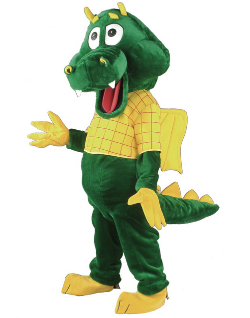 Dragon  Mascot Costume  Cartoon Character Costume Cosplay Mascot Custom Products Custom-made(s.m.l.xl.xxl) Free Shipping2019New