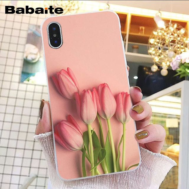 Field of Flowers in Pink and Purple iphone 11 case