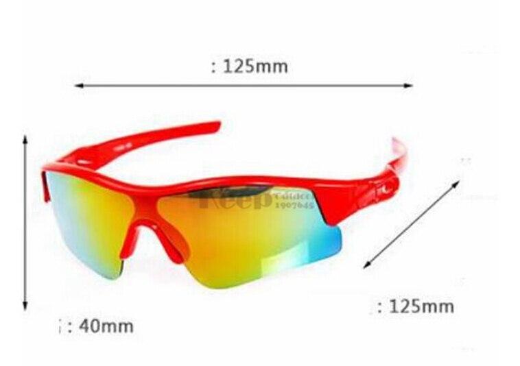 POLISI Для детей поляризация велосипед Велоспорт сноуборд Скейт лыжные очки UV400 Лыжный Спорт Обувь для мальчиков Обувь для девочек очки