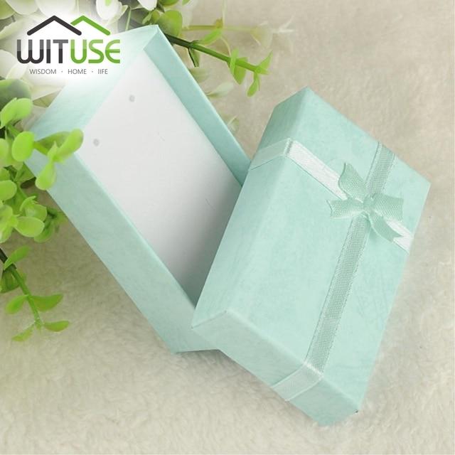 19 cor 2 TAMANHOS ---- Floral Colar Caixa do Anel Brincos 5*8 cm 4x3 cm Caixa de Jóias organizador de Jóias Caixa De Presente Da Jóia de papel