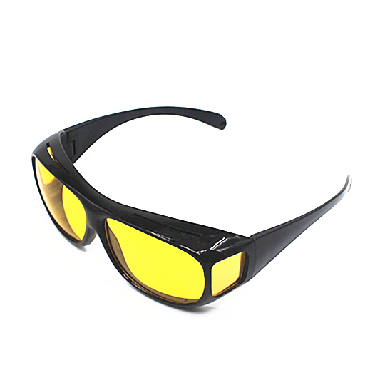 c04308bd16 Lunettes de protection pour conducteur verres jaunes HD lunettes de Vision  nocturne lunettes de conduite automobile