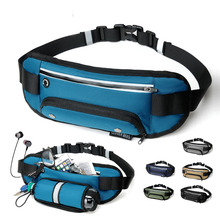 Running Waist Bag Bottle Outdoor Sports Belt Mobile Phone Holder Jogging Belly Gym Fitness trail waist