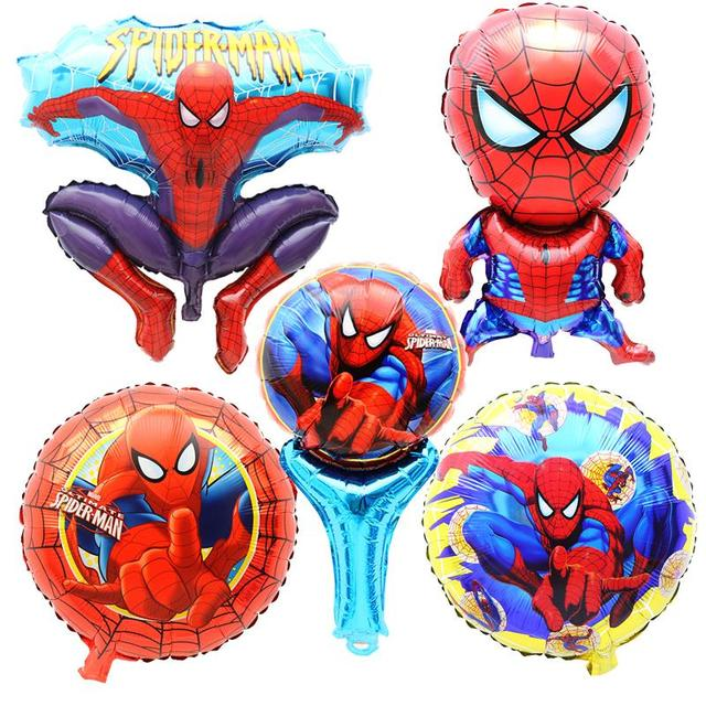 Spiderman Feuille D Helium Ballons De Fete D Anniversaire Decoration
