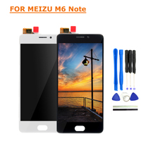 For Meizu M6 Note LCD Display Touch Screen 5 5 FHD Test Good Digitizer Assembly Replacement