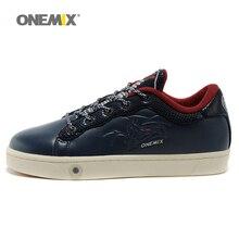 Onemix для мужчин's обувь для скейтбординга дышащая Спортивная обувь Прогулки Спорт на открытом воздухе мужчин обувь прогулок треккинг бег
