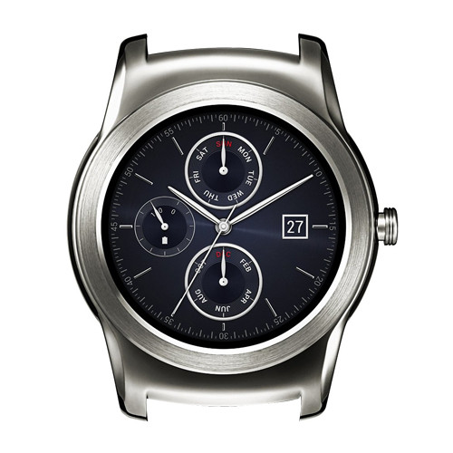 22mm LG G Watch Silver