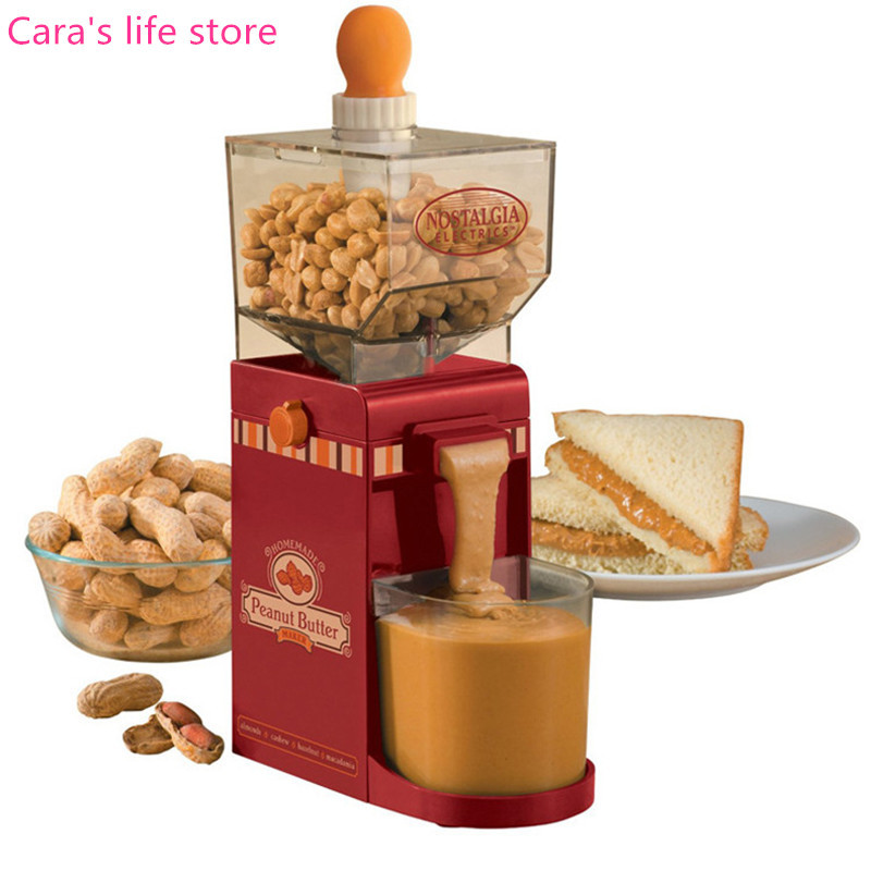 America electric small grinder machine household electric peanut butter maker household peanut butter maker machine home use peanut butter machine