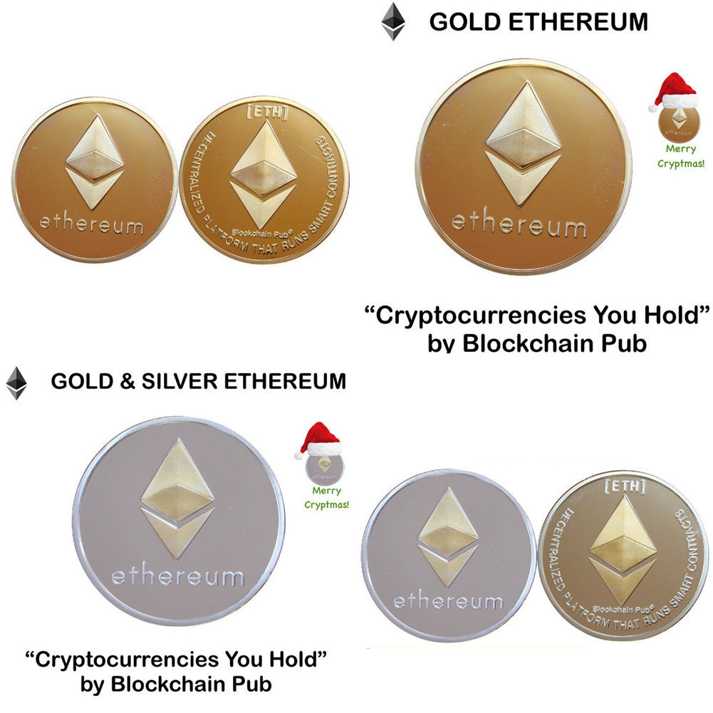 New Gold Plated Bitcoin Currency Coin Collection Physical Litecoin Gift Collection Art Antique Home Imitation  Party Decoration 3